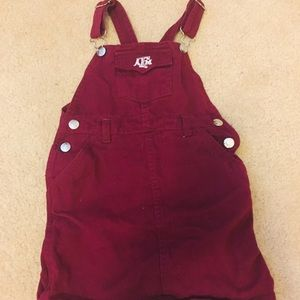 Other - Texas ATM Maroon Overalls